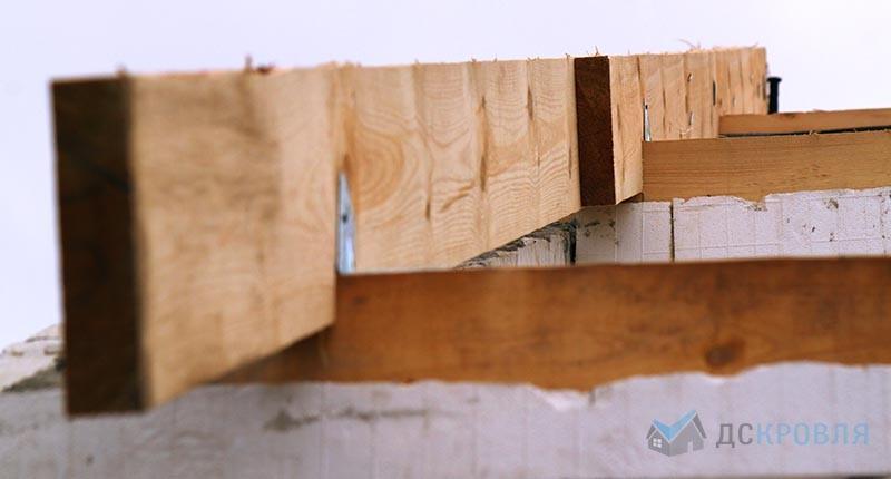 Монтаж цементно-песчаной черепицы Браас