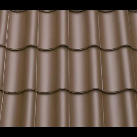 Орехово-коричневый матовый