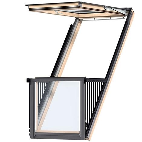 Velux GDL Cabrio Окно-балкон