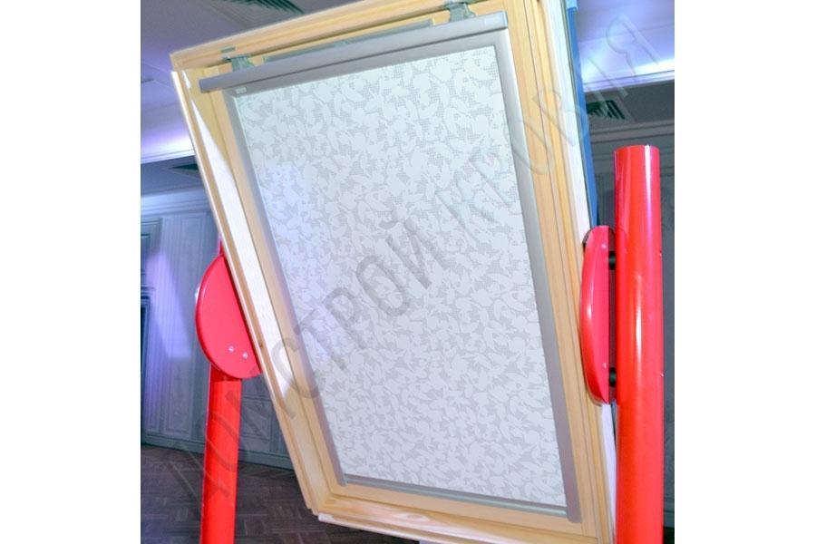 Рулонная штора на направляющих. Цвет 4156